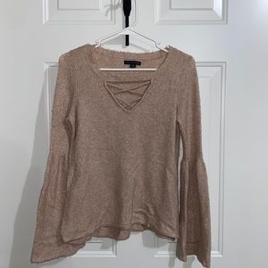 American Eagle Sweater With Flare Sleeves